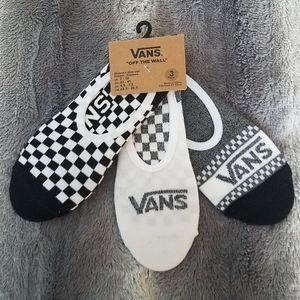 Vans no show socks NWT